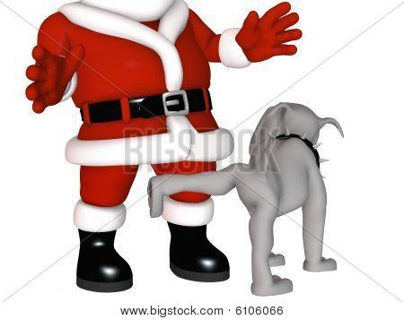 Spike On Santa's Naughty List