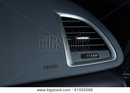 Ventilation in car