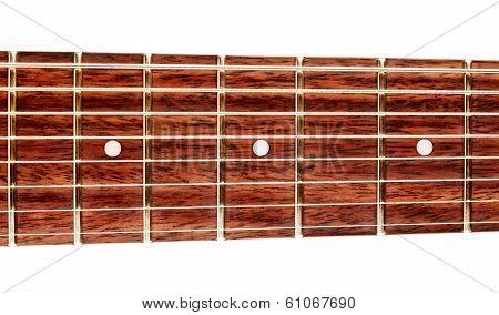 Eight-Strings Guitar Fretboard