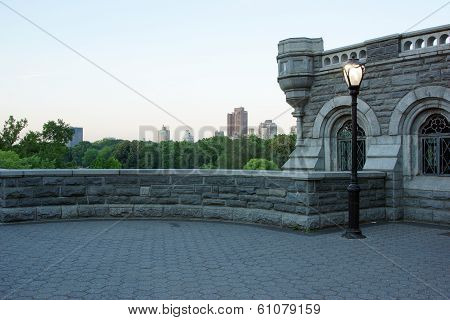 A Small Castle Found In The Middle Of Central Park