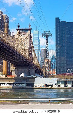 Queensboro Bridge and Lower Manhattan