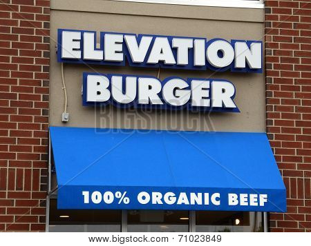 Elevation Burger Store Front