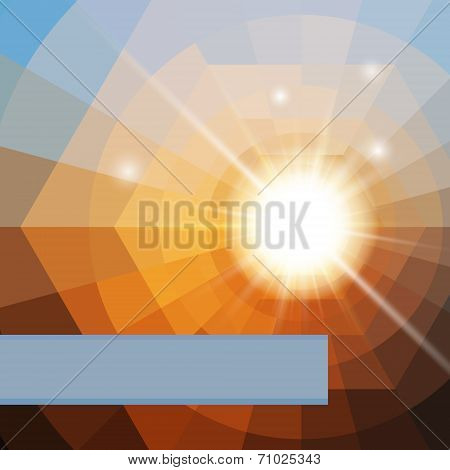 Abstract Colorful Shining Vector Background