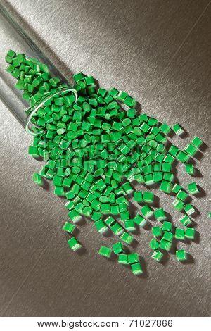 Green Polymer Granulaton Stainless Steel Sheet