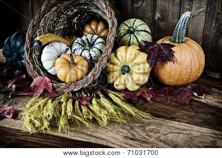 Cornucopia For Thanksgiving
