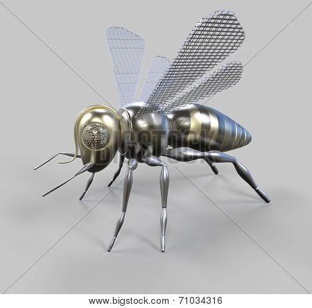 steampunk bee