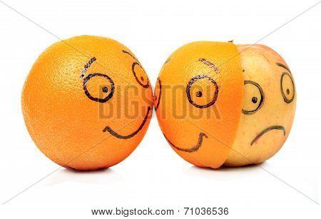 Apple and Orange emotions