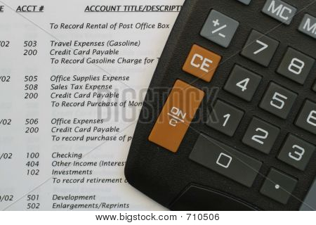 General Ledger And Calculator