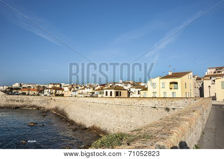 Home on bay in Antibes, France.