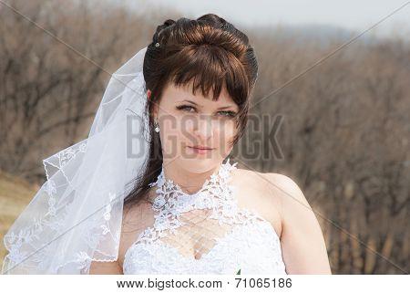 Portrait Beautiful Bride