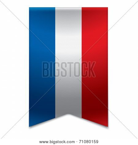 Ribbon Banner - Dutch Flag