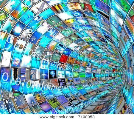 Media Tunnel met Binary