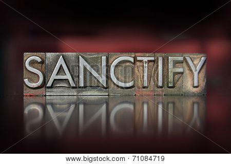 Sanctify Letterpress