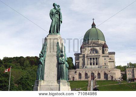 Saint Joseph's Oratory of Mount Royal, Canada