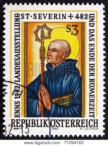 Postage Stamp Austria 1982 Severinus Of Noricum, Roman Catholic