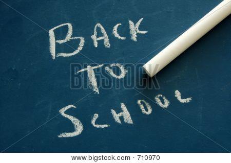 Back To School - Chalkboard