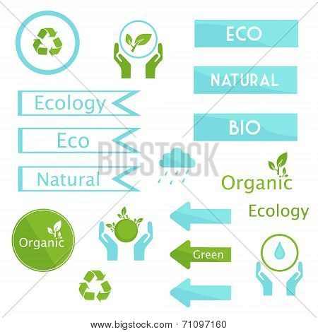 Elements of ecology signs and symbols