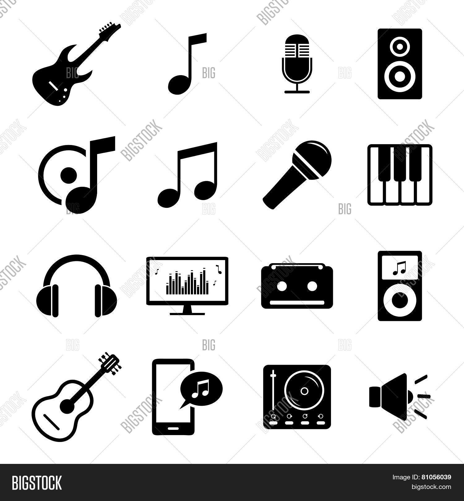 Collection Flat Media Vector Photo Free Trial Bigstock