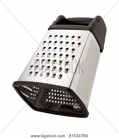 Tilted Stainless Steel Box Grater
