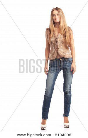 Standing Mädchen