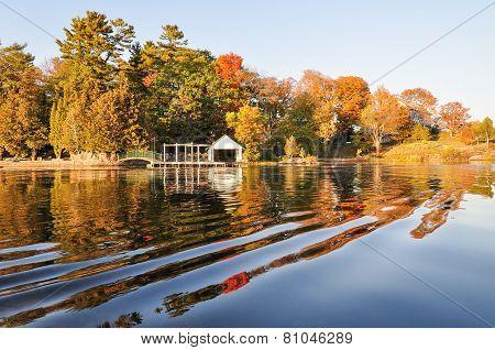 Fall On Lake