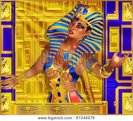 Cleopatra or any Egyptian Woman Pharaoh.