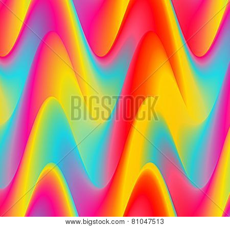 Abstract background with wave pattern.