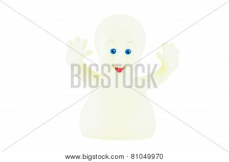 Casper Ghost Figure Character From Casper An American Family Comedy Fantasy Film.