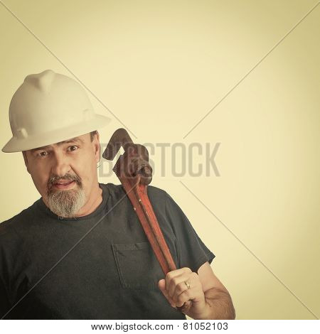 Construction Man Ready To Work