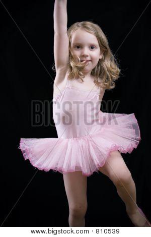 Little dancing girl