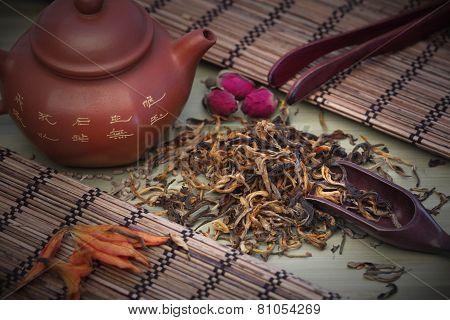 Dian Hong Mao Feng tea