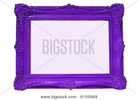 Purple Picture Frame