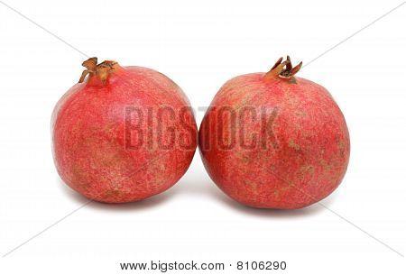 Pomegranates, Isolated