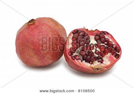 Pomegranate, Isolated