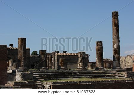 The Temple Of Jupiter, Pompei
