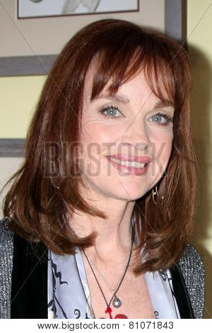 LOS ANGELES - JAN 23:  Pamela Sue Martin at the Home and Family Show taping at a Universal Lot on January 23, 2015 in Universal City, CA