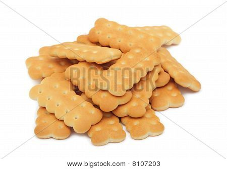 Pile Of Cookies, Isolated