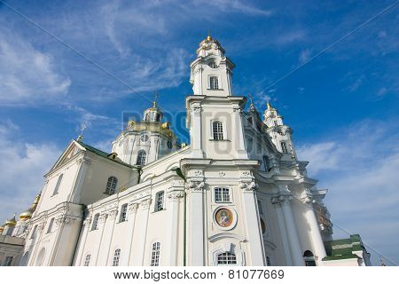 One Of Temples Pochayiv Lavra
