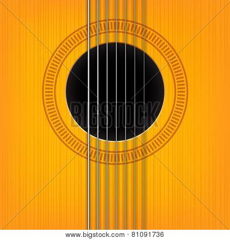 vector guitar sound hole background.