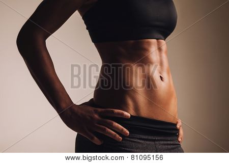 Perfect Female Body - Abdominal Muscles