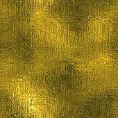 Golden Foil Seamless and Tileable Texture. Shiny holiday pattern. Web and print high resolution gold background. With this texture you can create awsome web-backgrounds and banners, greeting and business cards, flyers and invitations. poster