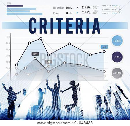 Criteria Regulation Generality Business Marketing Concept