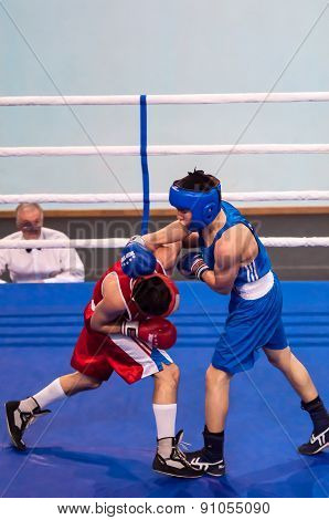 Competitions In Boxing, Orenburg, Russia