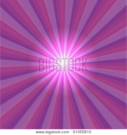 Purple background with lens flare