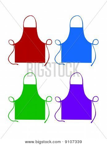 Colored Aprons