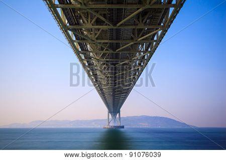 Akashi Kaikyo Bridge, Kobe, Japan