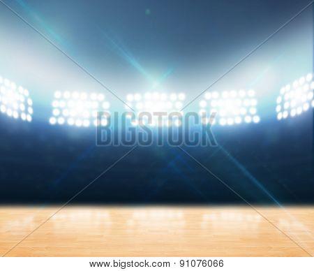 Indoor Floodlit Gymnasium