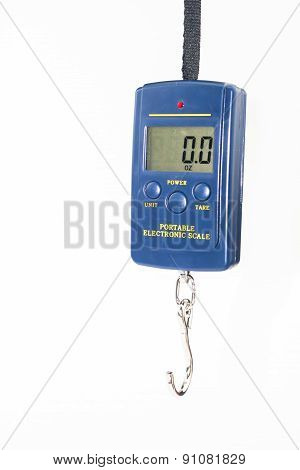 Portable Electronic Scale Isolated