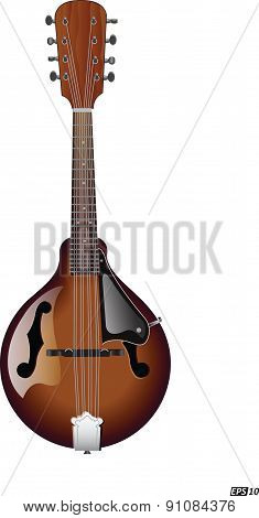 Mandolin-Vector Icon