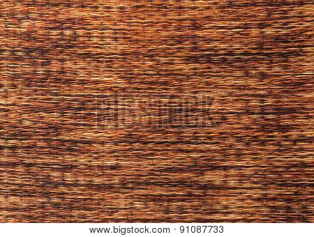 Mat Handcraft Rattan Weave Texture For Background
